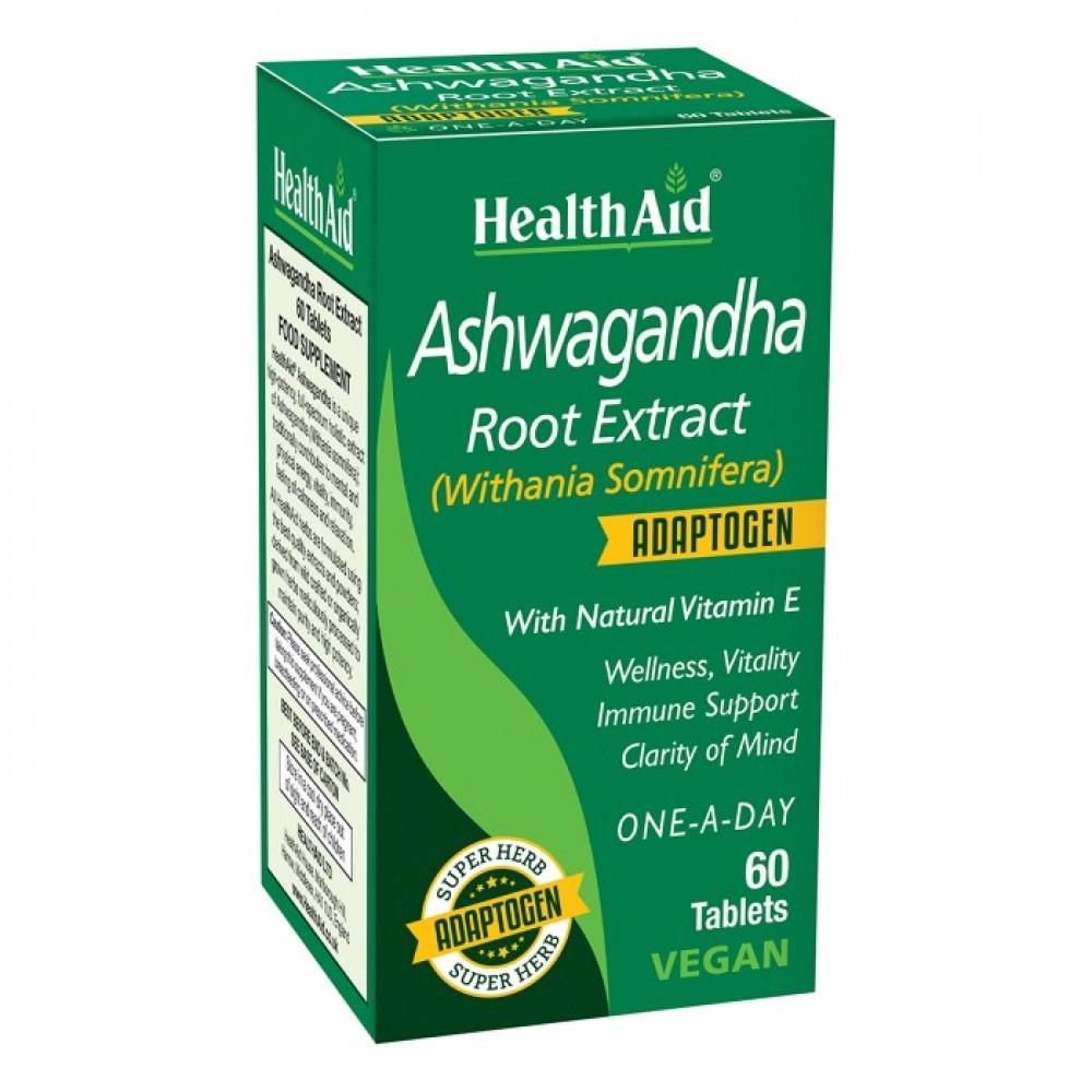 Health aid - Ashwagandha Root Extract 60tabs