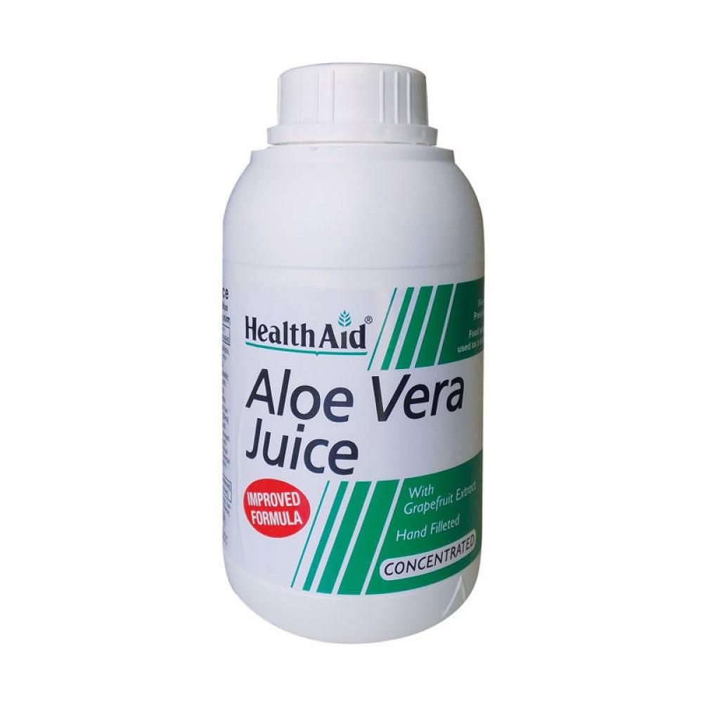 Health aid - Aloe Vera Juice 500ml Συμπυκωμένος Χυμός Αλόης