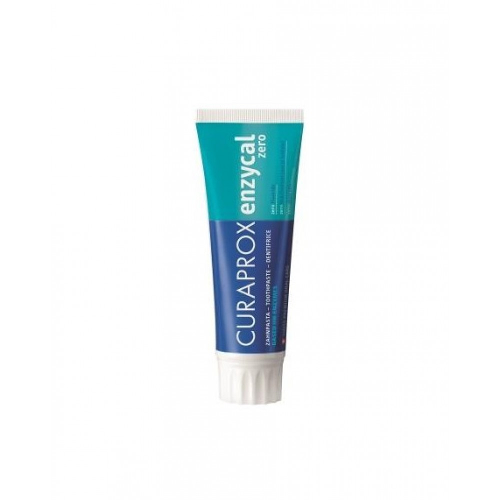 CURAPROX οδοντόκρεμα ENZYCAL ZERO χωρίς ΦΘΟΡΙΟ & ΜΕΝΤΑ 75ml