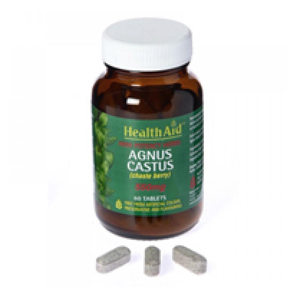 Health aid - Agnus Castus 550mg 60s