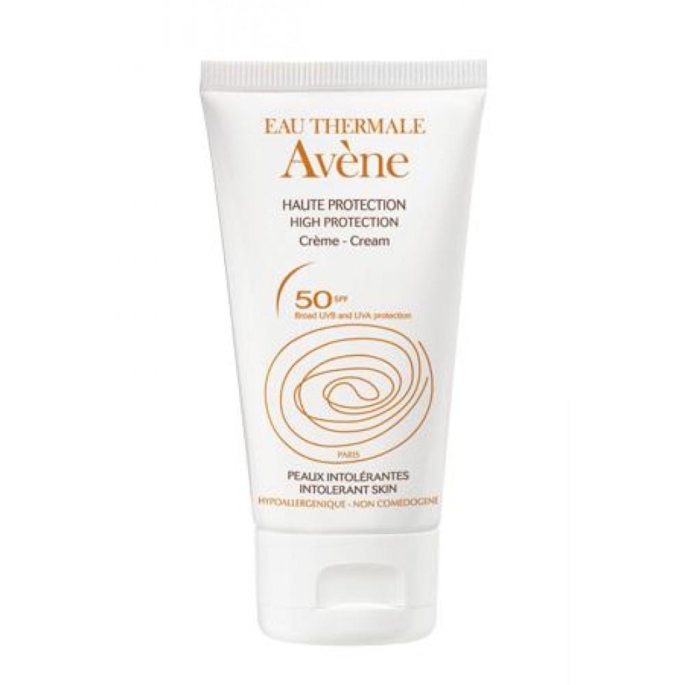 Avene - Creme Minerale SPF50, 50ml για Ευαίσθητες Επιδερμίδες