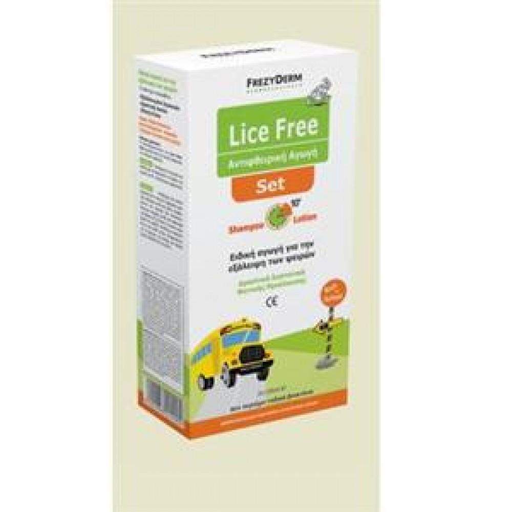 Frezyderm - Lice Free, Set (Shampoo + Lotion) 2x125ml