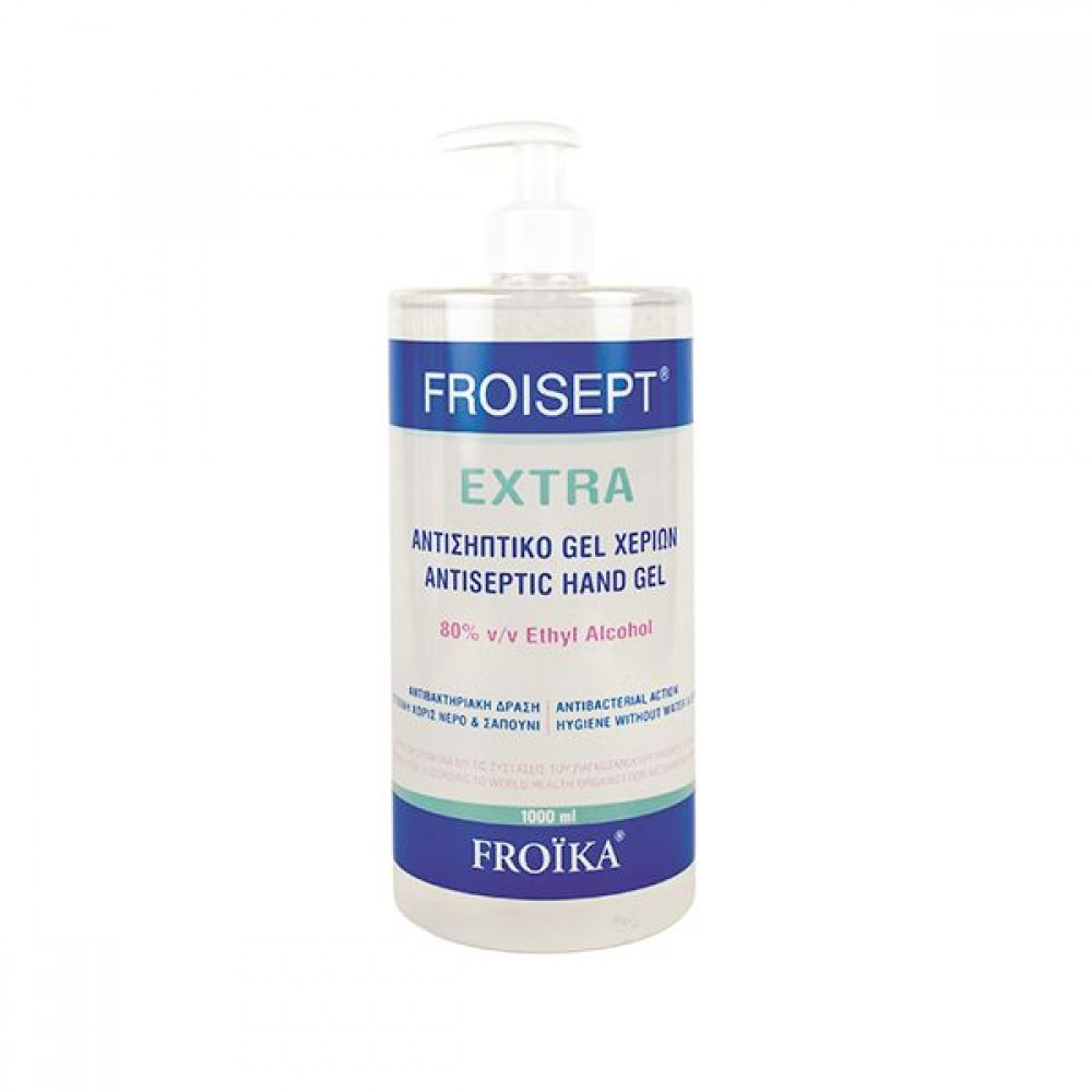 Froika - Froisept Extra Gel Αντισηπτικό Χεριών 1000 ml