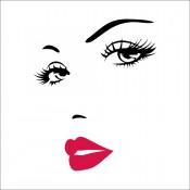 Μάτια - Χείλη